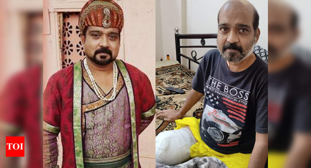 'Yeh Hai Mohabbatein' and 'Jodha Akbar' actor Lokendra Singh loses his leg to high diabetes and lack of work and money – Exclusive! – Times of India ►