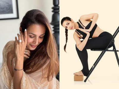 Yoga performed by Malaika Arora can correct posture