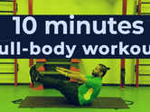 10-minutes full-body workout