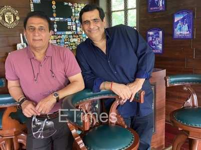 Sunil Gavaskar stumps Manish Goswami