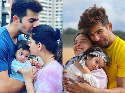 Cute moments of Mahhi-Jay's baby girl Tara
