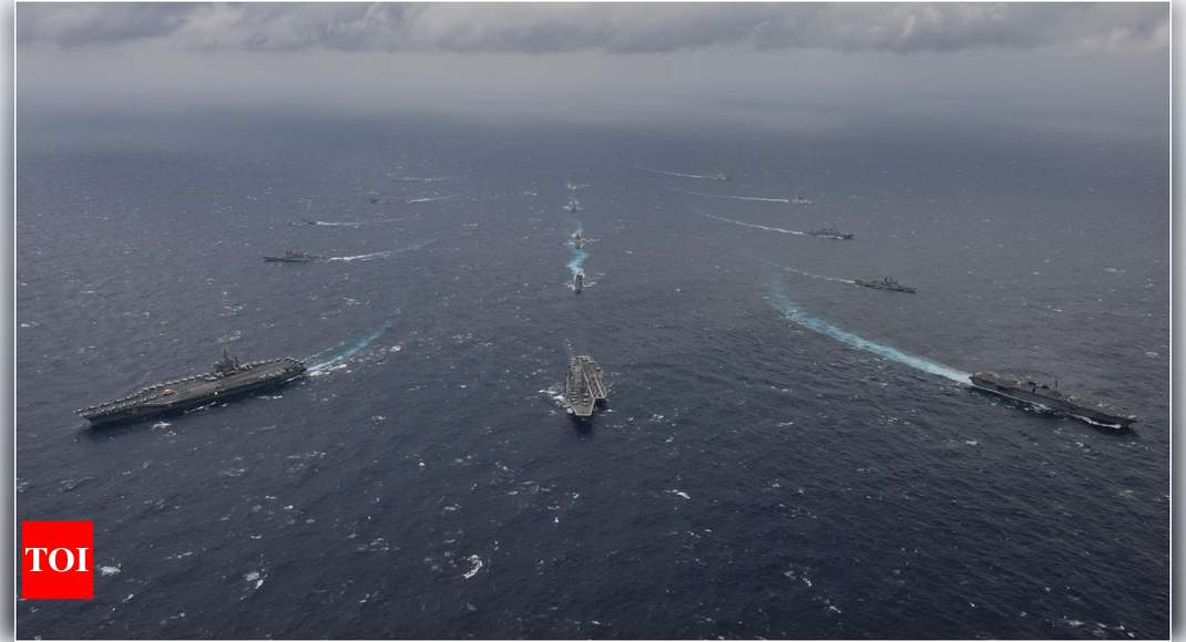 Malabar drill in August to send out Quad message to China