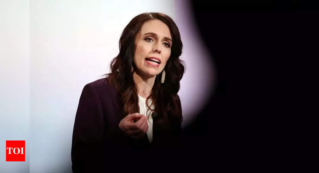 New Zealand PM Ardern tests negative for Covid-19 – Times of India