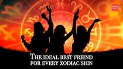 The ideal best friend for every zodiac sign