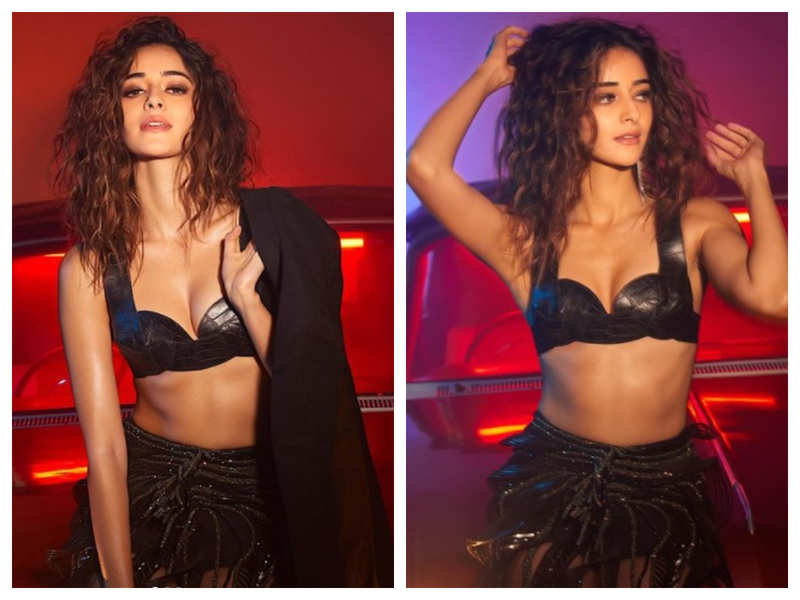 Ananya Panday is turning up the heat on Instagram with her bewitching pictures from her latest photoshoot