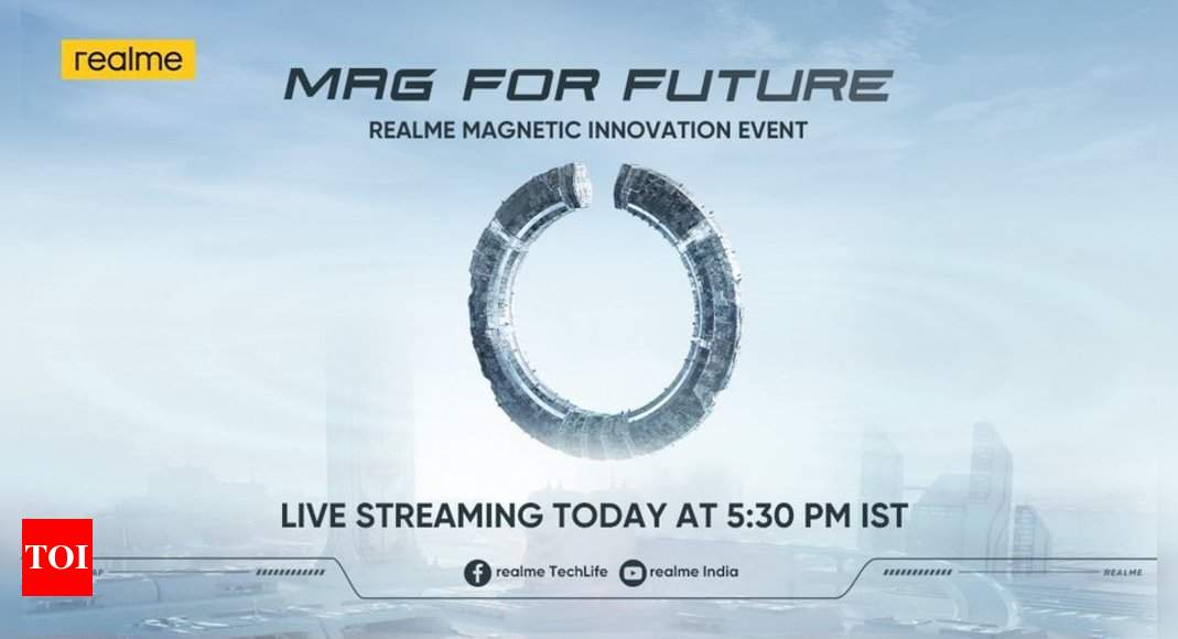 Realme MagDart wireless charger to launch in India today at 5:30 pm: How to watch live stream