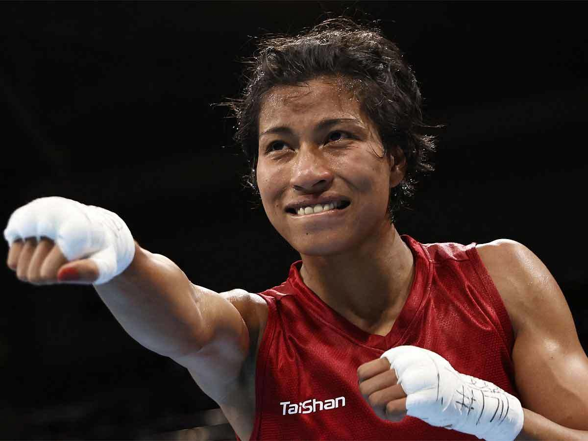 Tokyo Olympics 2020: Cool and composed Lovlina Borgohain chases historic  Olympic final berth | Tokyo Olympics News - Times of India