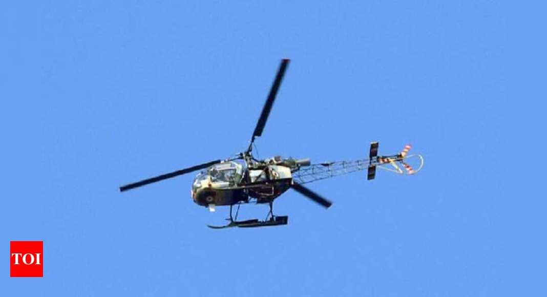 Army helicopter crashes near Ranjit Sagar dam