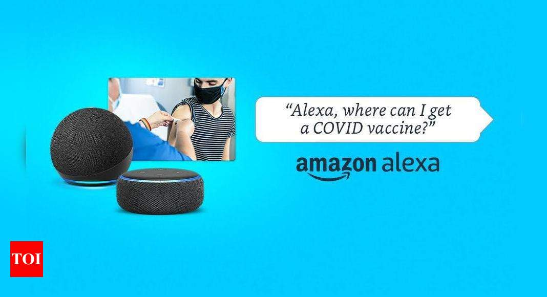 Amazon Alexa can now help you find where to get your dose of vaccine, get tested for Covid-19