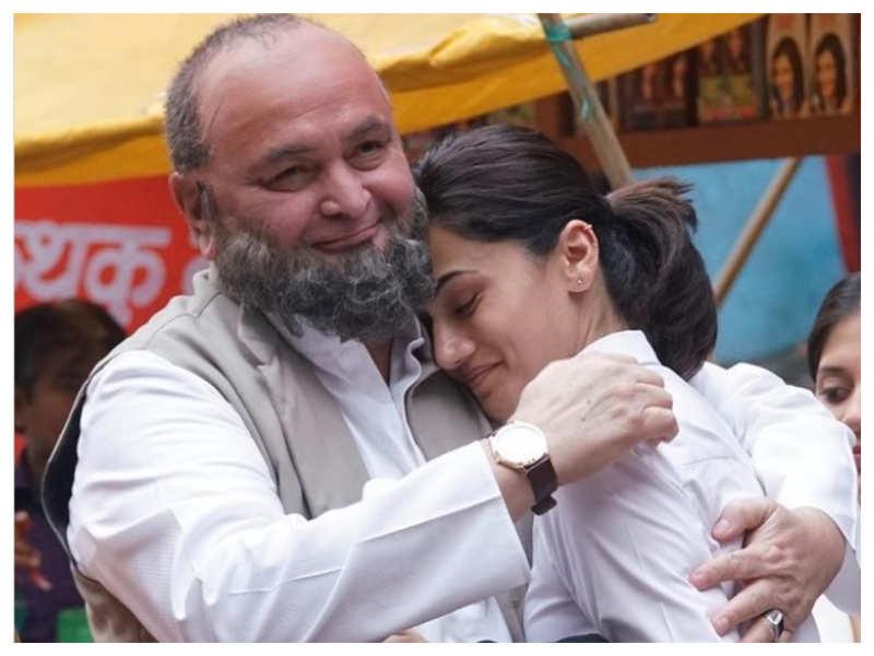 Taapsee Pannu remembers late Rishi Kapoor as 'Mulk' completes 3 years: You'll always be missed Chintu ji