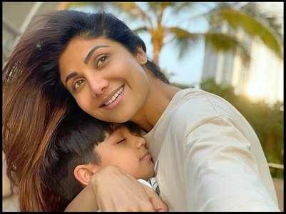 Shilpa 's son Viaan shares happy pics