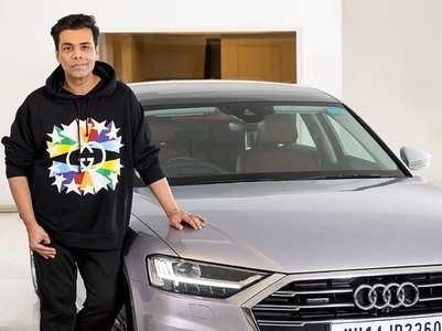 Karan Johar splurges 1.5 crore on a new car