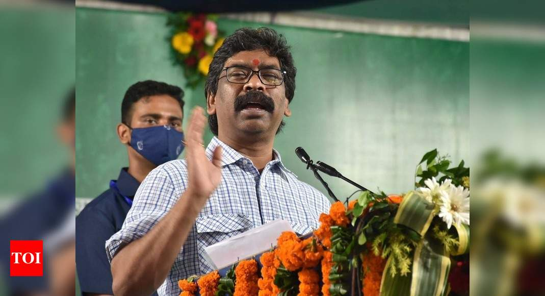Jharkhand players participating in Tokyo Olympics to be made state icons: CM Hemant Soren | India News – Times of India