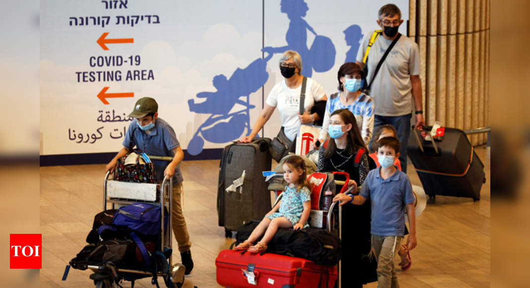 Israel: Travelers from US, other countries must undergo quarantine – Times of India