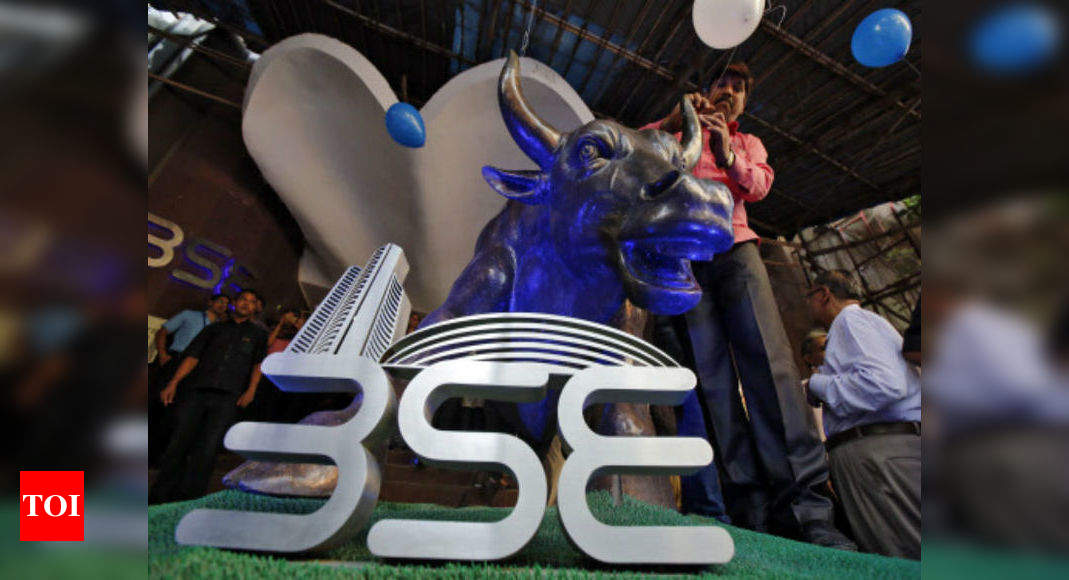 Markets open at fresh peak: Sensex crosses 54,000-mark; Nifty above 16,200 – Times of India