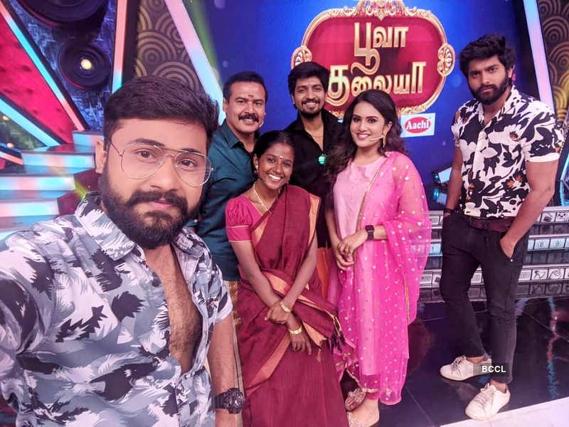 Tamil daily soap 'Sundari' completes 100 episodes; Jishu Menon, Gabriella Sellus and other actors thank fans (Photo - Instagram)