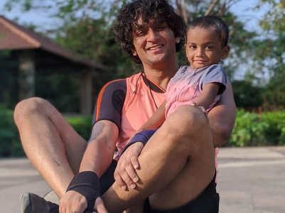 Vikas' cute camaraderie with kid Simba