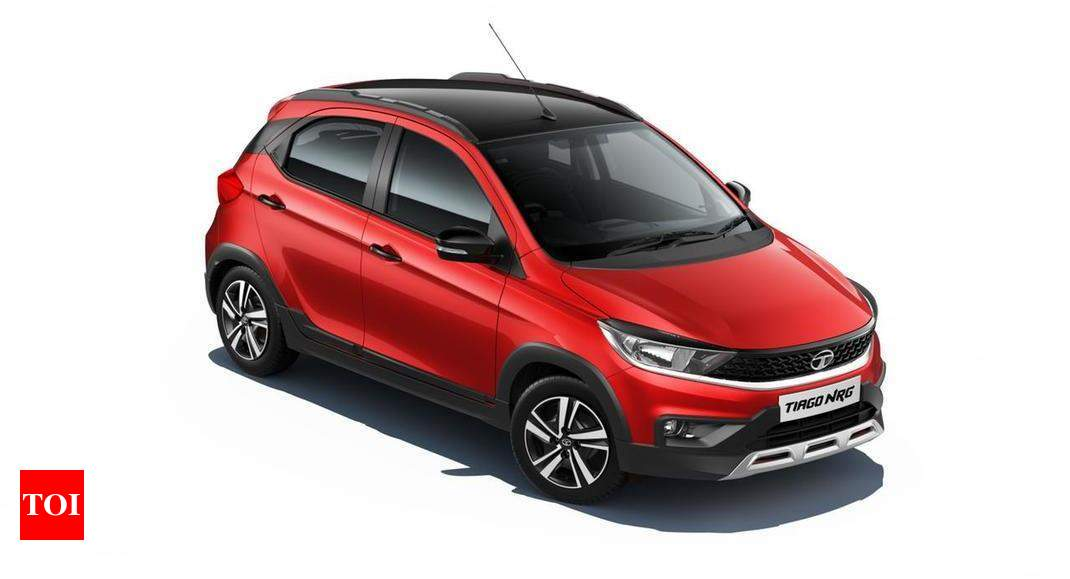 Tata Tiago 2021 price: 2021 Tata Tiago NRG launched at Rs 6.46 lakh – Times of India