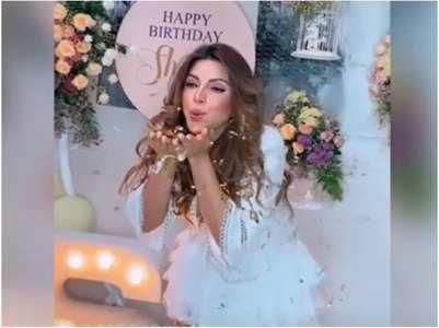 Shama Sikander on her birthday plans