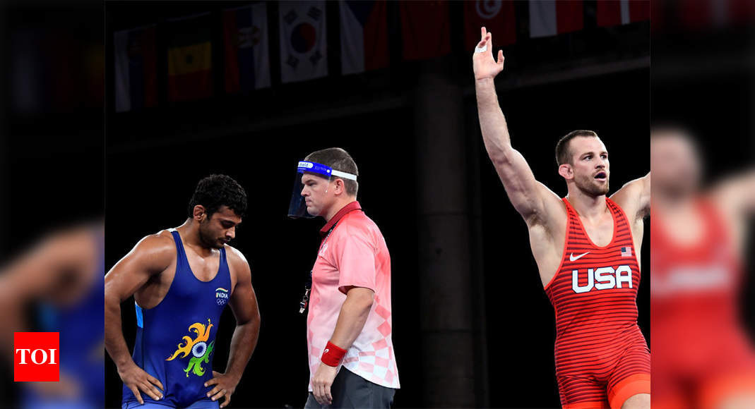 Tokyo Olympics: Wrestler Deepak Punia loses semi-final, to fight for bronze now   Tokyo Olympics News – Times of India