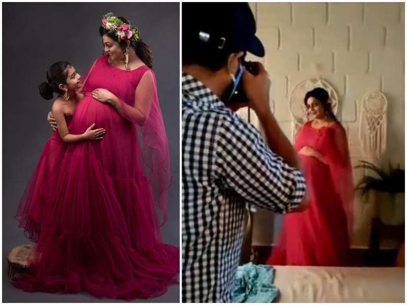 This BTS video from mom-to-be Aswathy Sreekanth's maternity photoshoot will make your day; watch