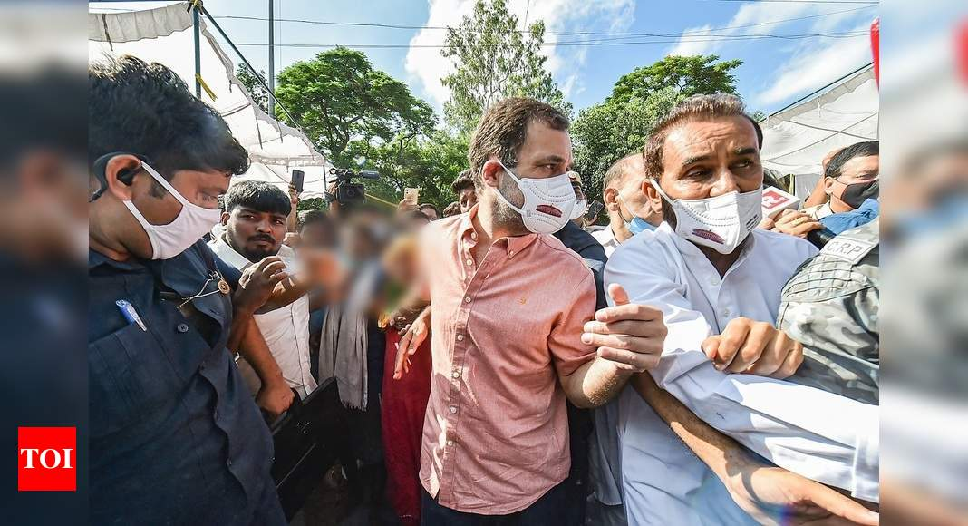 BJP criticises Rahul Gandhi for tweeting photos of rape victim, asks NCPCR to take action