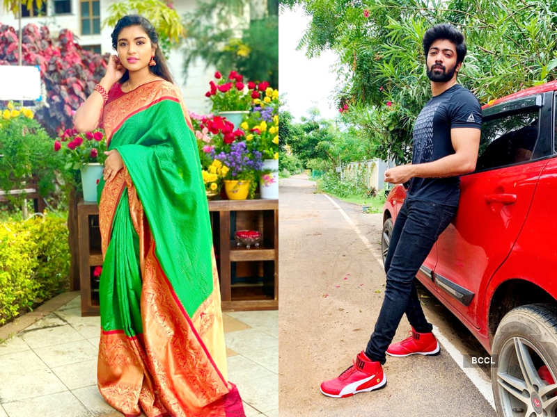 Actors Aryan and Shabana announce their relationship with a romantic post (Photo - Instagram)