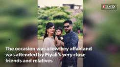Glimpses from actress Piyali Mukherjee's son's rice ceremony