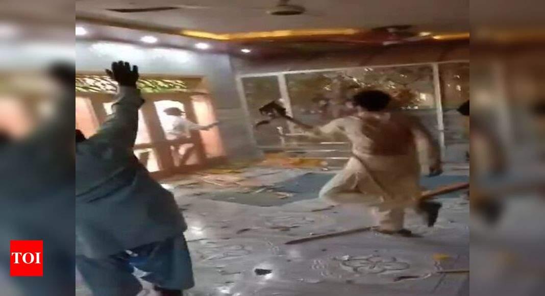 Hindu temple vandalized in Pakistan