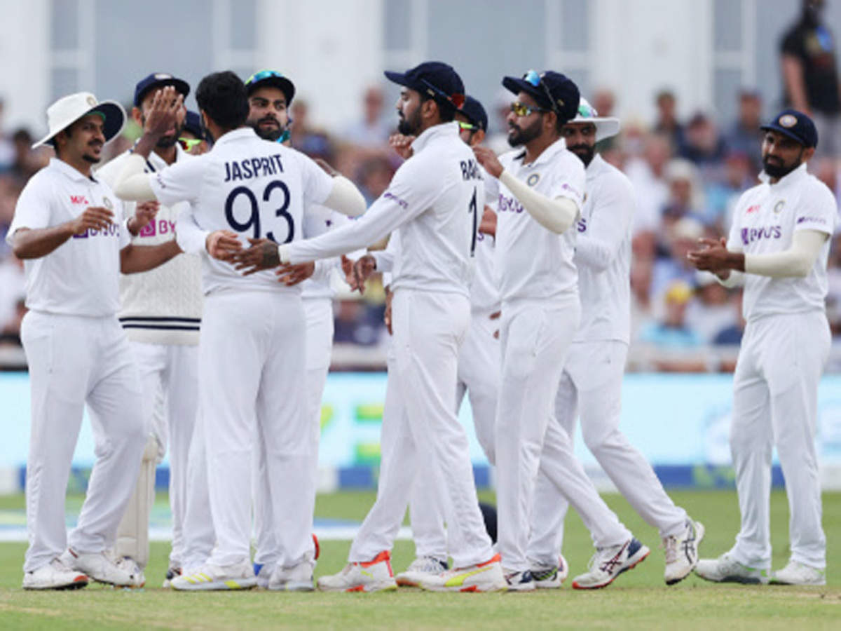 Ind vs Eng 1st Test: Pacers put India on top against England on Day 1 |  Cricket News - Times of India