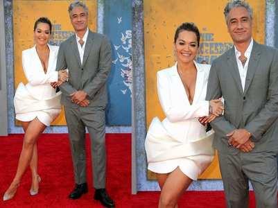 Rita Ora-Taika Waititi make their romance official