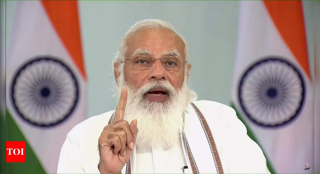 Abrogation of Article 370 bought unprecedented peace, progress in J&K: PM Modi | India News – Times of India
