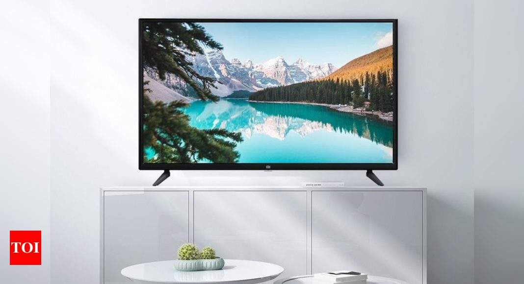Xiaomi Mi TV 4C 32-inch launched in India: Price, specs and more – Times of India