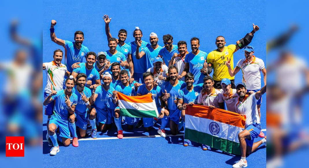 Film stars hail Indian men's hockey team for winning medal at Tokyo Olympics