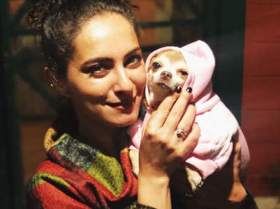 Lavina Tandon on taking her pet to the sets