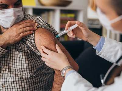 Vaccinated people thrice at lower risk of COVID