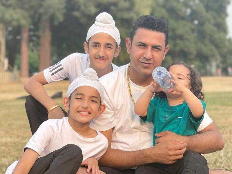 Gippy Grewal shares a perfect sun-kissed picture with his boys