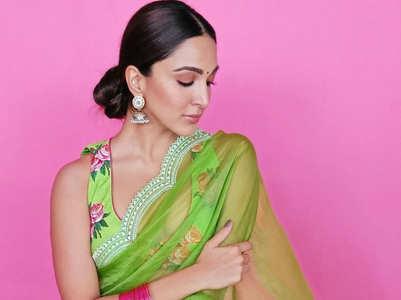 Kiara Advani and her designer saris