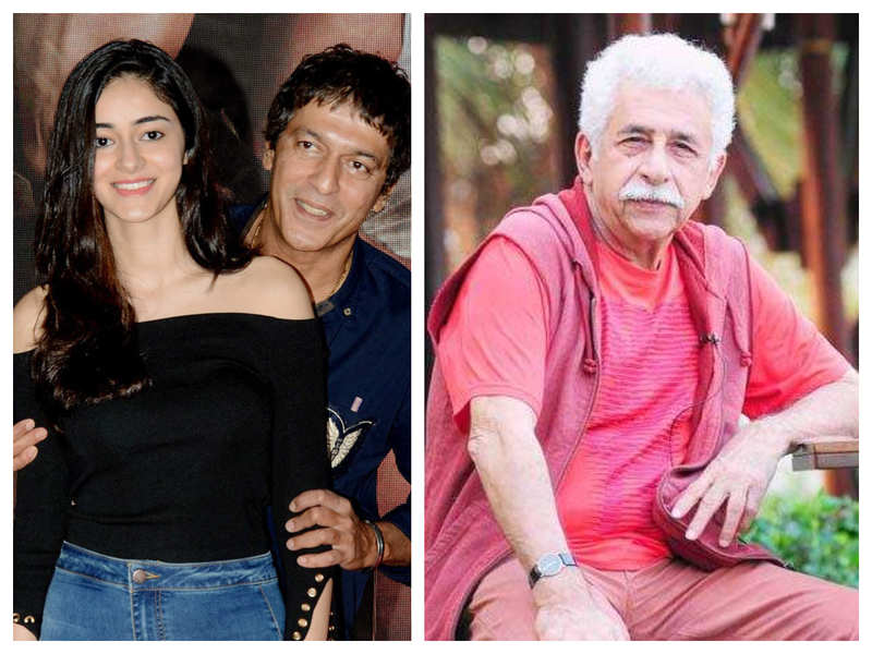 Chunky Panday shares a funny story of daughter Ananya Panday's embarrassing encounter with Naseeruddin Shah
