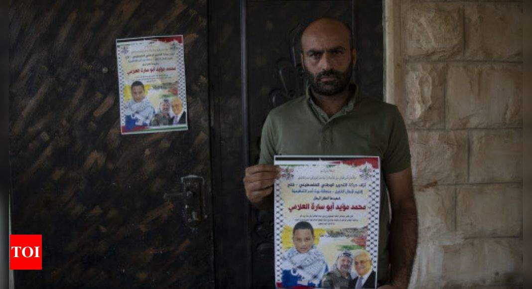 Palestinian dad expects no justice for son killed by troops – Times of India