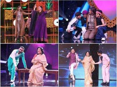Sonali, Moushumi in Super Dancer 4
