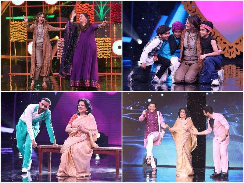 Sonali Bendre and Moushumi Chatterjee to be seen as special judges on Super Dancer - Chapter 4