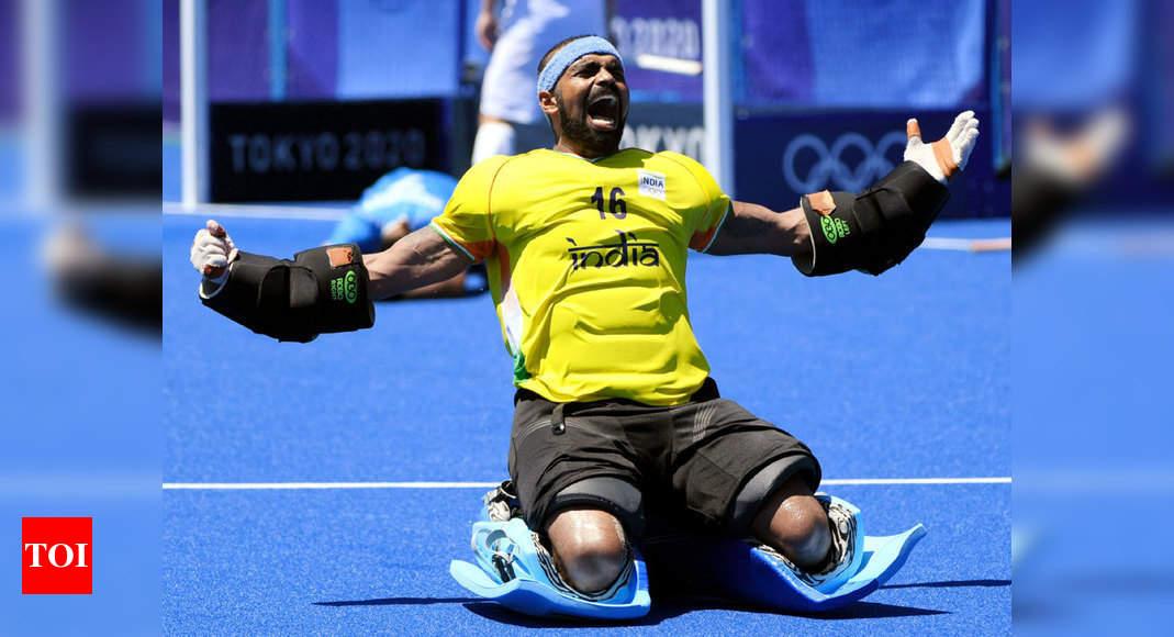 Tokyo Olympics 2020: It's a rebirth, that's it, PR Sreejesh on bronze medal win | Tokyo Olympics News – Times of India
