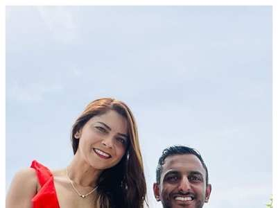 Sonalee and Kunal's dreamy pics from Maldives