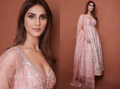 Vaani Kapoor's blush kurta is gorgeous
