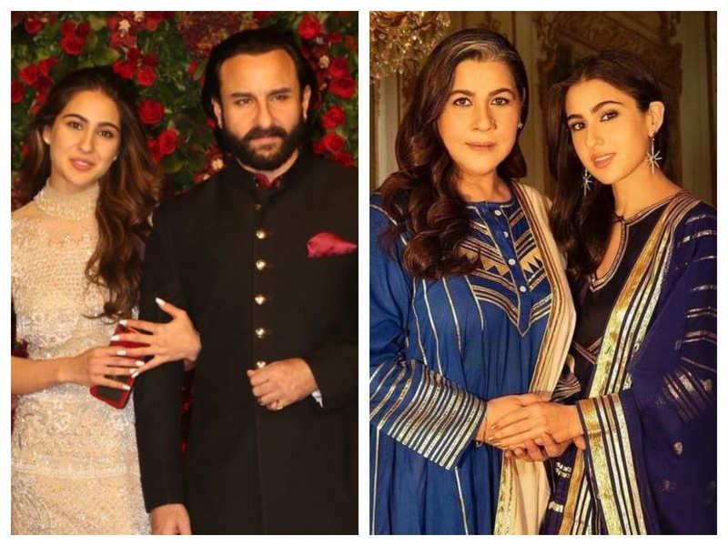 Sara Ali Khan on Saif Ali Khan and Amrita Singh's divorce: I don't think they were happy together