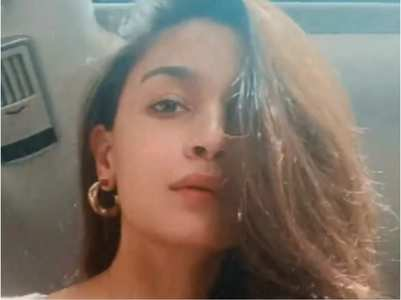 Watch: Alia Bhatt has a good hair day