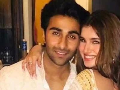 Tara shares a shirtless pic of Aadar Jain