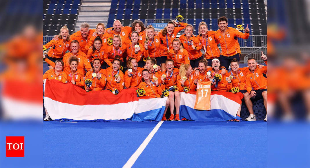 Netherlands win Olympic women's hockey gold with 3-1 victory over Argentina   Tokyo Olympics News – Times of India