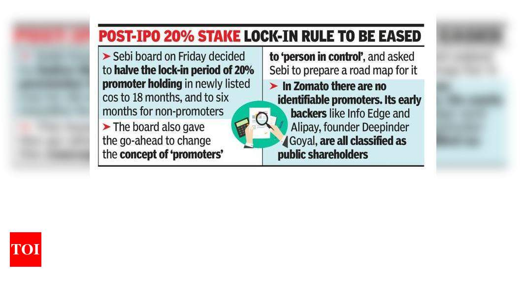 Sebi looks to do away with promoter concept – Times of India